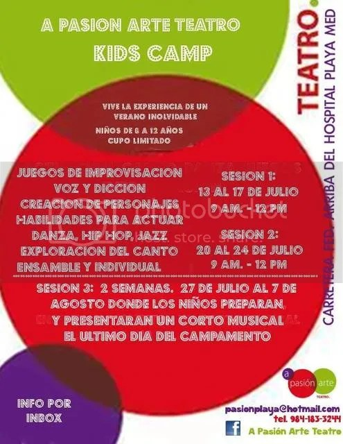 Theater Camp Playa del Carmen