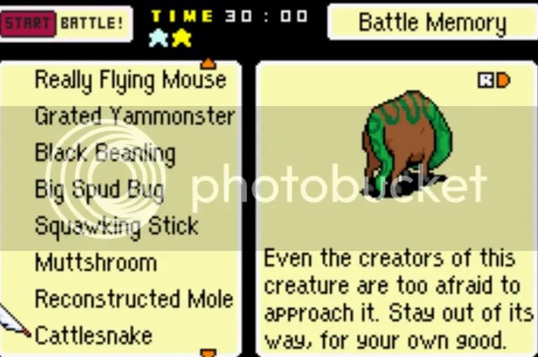 Mother 3 Back Sprite Enemy List 1 204 Includes Unused Enemies