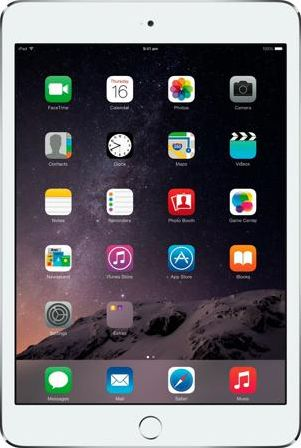 Apple iPad mini 3 Wi-Fi 16GB Silver White