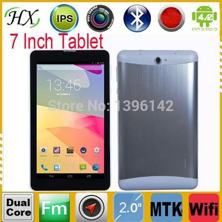 Планшетный ПК HB 7/512mb 4G SIM 3G android4.2 FM OTG Bluetooth GPS YL-718
