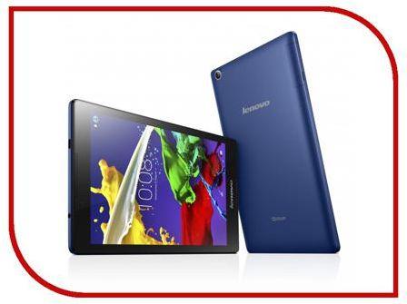 Планшет Lenovo TAB 2 A8-50LC 16Gb ZA050025RU Blue (MediaTek MTK8735 1.3 GHz/1024Mb/16Gb/Wi-Fi/3G/LTE/Bluetooth/Cam/8.0/1280x800/Android)