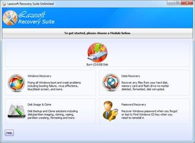 Lazesoft Recovery Suite 4.2.3.1 Unlimited Edition Portable