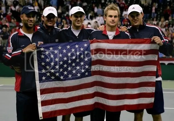 James Blake, Mardy Fish, Andy and the Bryan Brothers may have won the Davis Cup, but the state of American mens tennis is not looking good.