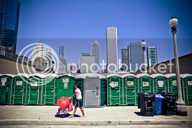 The Chicago Skyline Juxtaposed