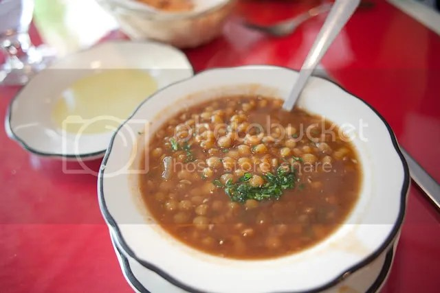 Lentil Soup --amazing and fresh