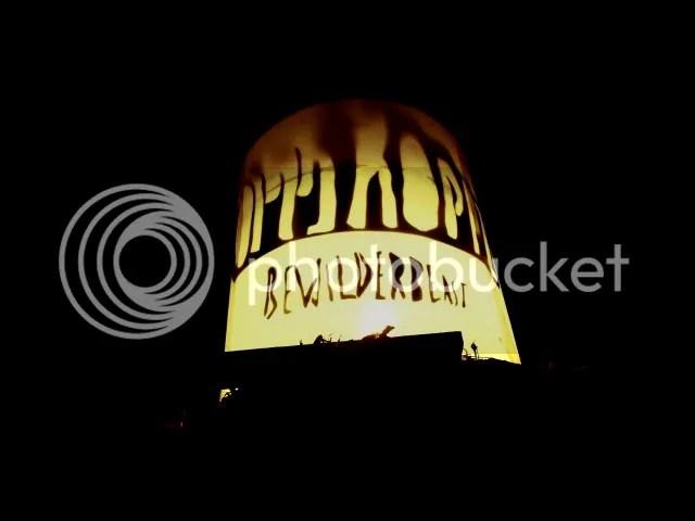 Oppikoppi Bewilderbeast sign