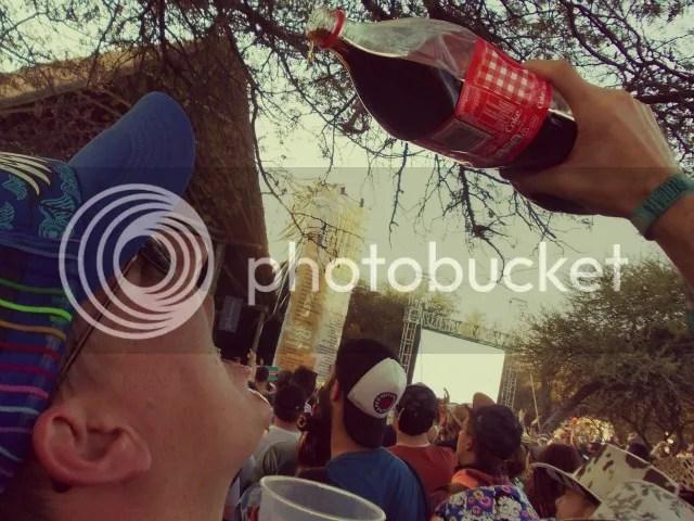 Oppikoppi Bewilderbeast Coke and Brandy