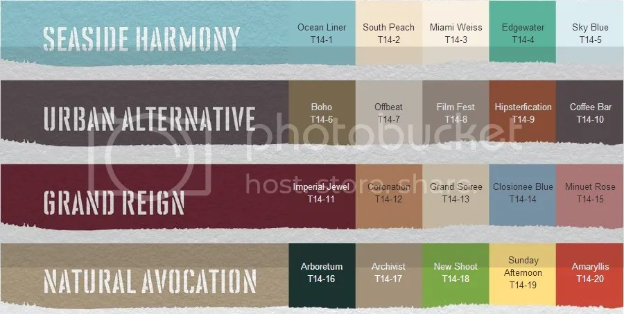 Behr's 2014 color trends are rich and varied