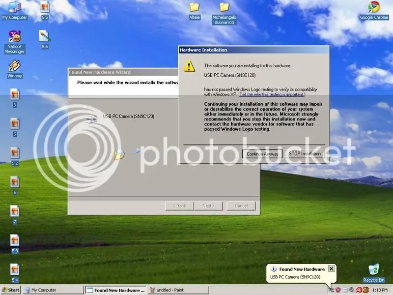 9 Cum sa instalez WebCam ul