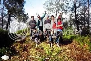 GRS Team di Puncak Wilis