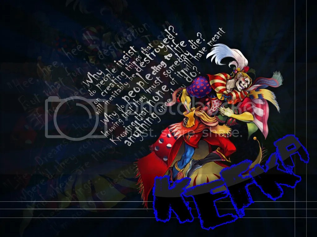 It's Kefka, need I say more