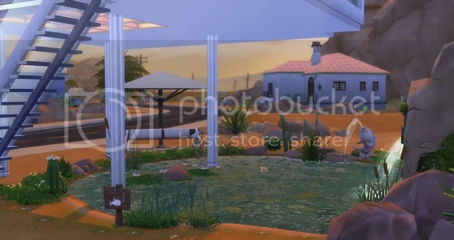 Pond featuring creations for the sims 4 for Sims 4 fishing