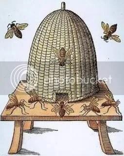 English Beehive, 1658
