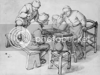 Adriaen van Ostade, Backgammon 1630-60
