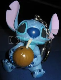 #LS073 - Stitch with Coconut Drink Figurine - $15