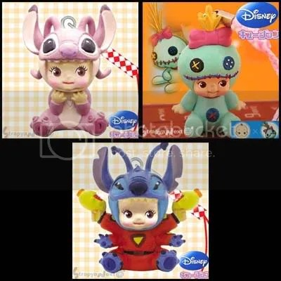 #LS014 - Kewpie Meets Disney - S$15(each) / S$28(any 2) / S$40 (all)