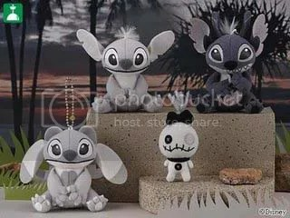#LS048 – Monochrome Angel, Stitch & Leroy - $8.50