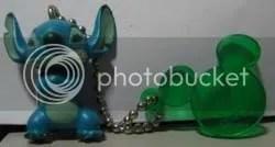 #LS059 – Stitch & Mickey Charm Keychain - $2.50