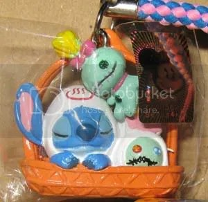 #LS050 – Stitch & Scrump in Basket Keychain -$10