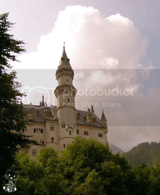 Neuschwanstein Castle built by Ludwig 2 of Bavaria in Germany