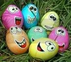 Smiley Easter Eggs Pictures, Images and Photos
