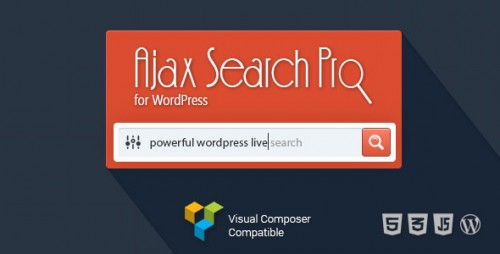 Ajax Search Pro for WordPress v4.11.1 - Live Search Plugin product graphic