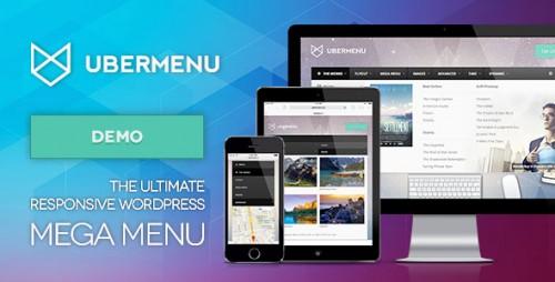 Nulled UberMenu v3.3 - WordPress Mega Menu Plugin product image