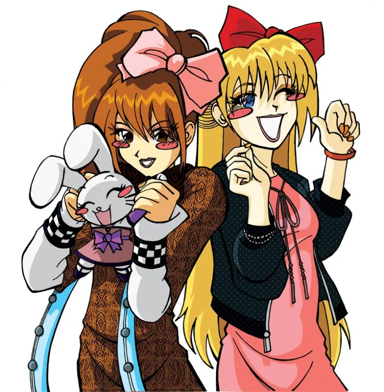 2 Lolis N A Bunny
