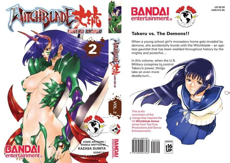 Witchblade Takeru Manga Cover 2
