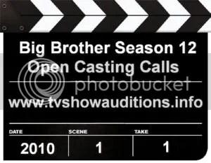 big brother season 12 auditions