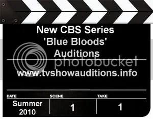 CBS Blue Bloods Auditions