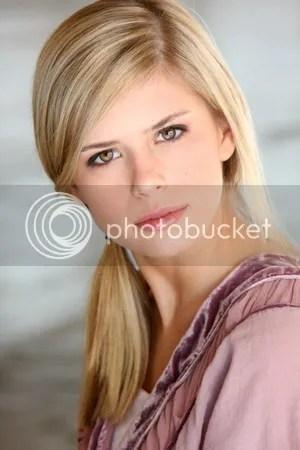 Actress Carlson Young
