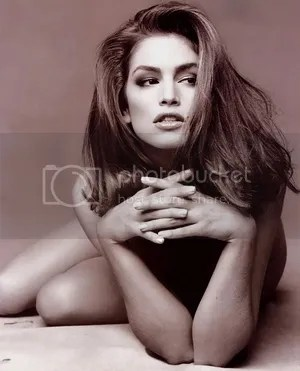 Stunning Supermodel Cindy Crawford Photo