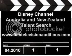 Disney Australia and New Zealand Talent Search