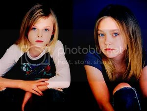Child Stars Dakota and Elle Fanning