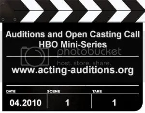 hbo auditions
