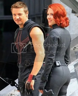 Scarlett Johansson Chris Evans The Avengers: Age of Ultron