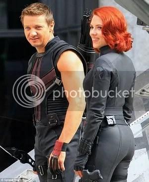 Scarlett Johansson Chris Evans The Avengers: Age of Ultron