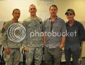 Shia LaBeouf Jon Bernthal Brad Pitt Logan Lerman Fury
