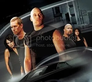 Vin Diesel Paul Walker Dwayne Johnson Fast & Furious 7