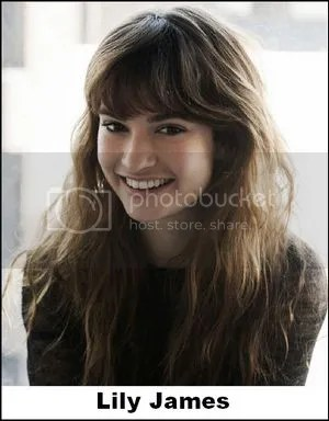 Lily James Disney Casting Cinderella