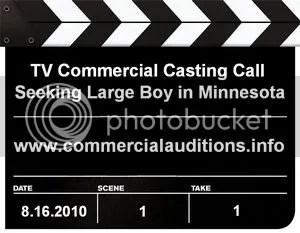 Large Boy Casting Call Minnesota