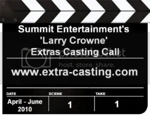 Larry Crowne Extras Casting Call