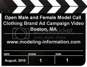 Open Model Call Boston