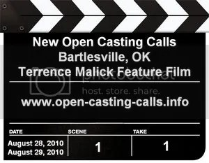 Open Casting Calls Bartlesville