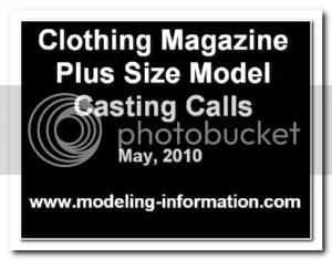 Plus Size Model Casting Calls