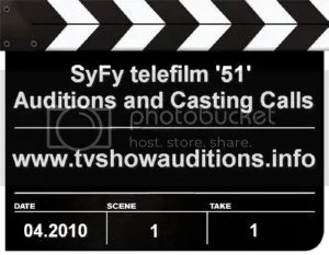 Area 51 Auditions and Casting Calls