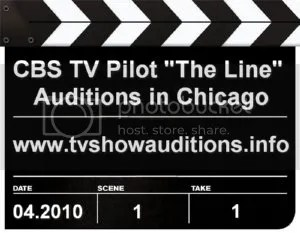 CBS TV Pilot The Line Auditions
