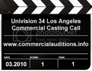 Univision Commercial Auditions