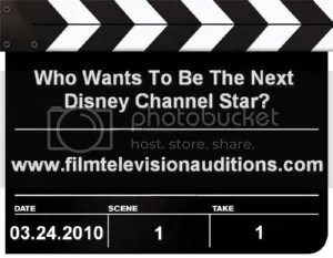 Disney Channel Open Casting Call